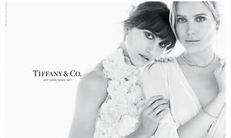 Dree & Langley Fox Hemingway in Tiffany & Co. Fall 2015 Campaign