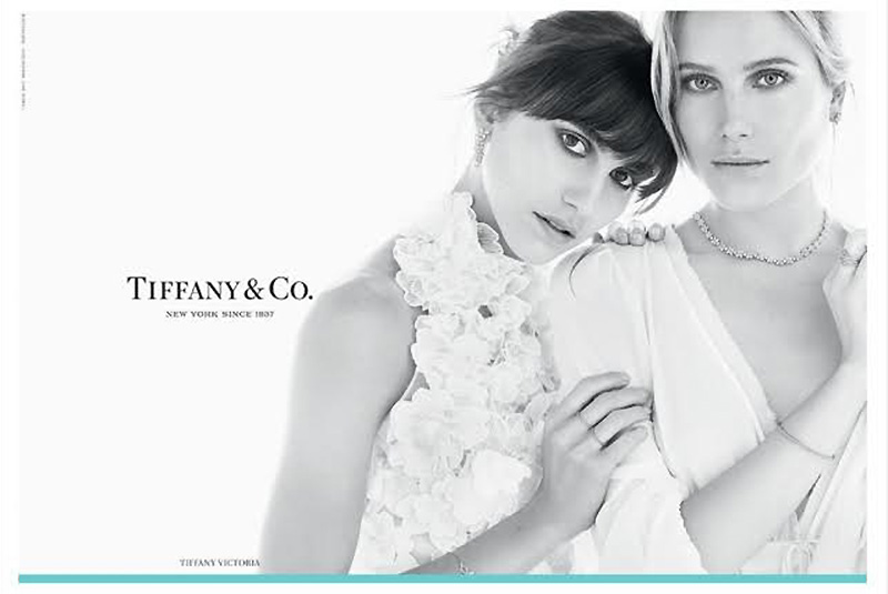 Doutzen Kroes & the Hemingway Sisters Star in Tiffany & Co. Fall '15 Ads