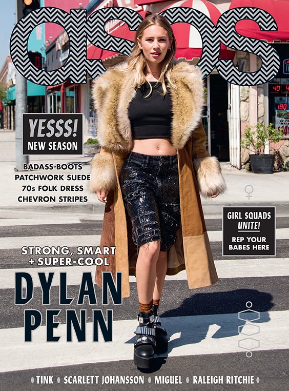 Dylan Penn Stars in ASOS Magazine's September 2015 Cover Story