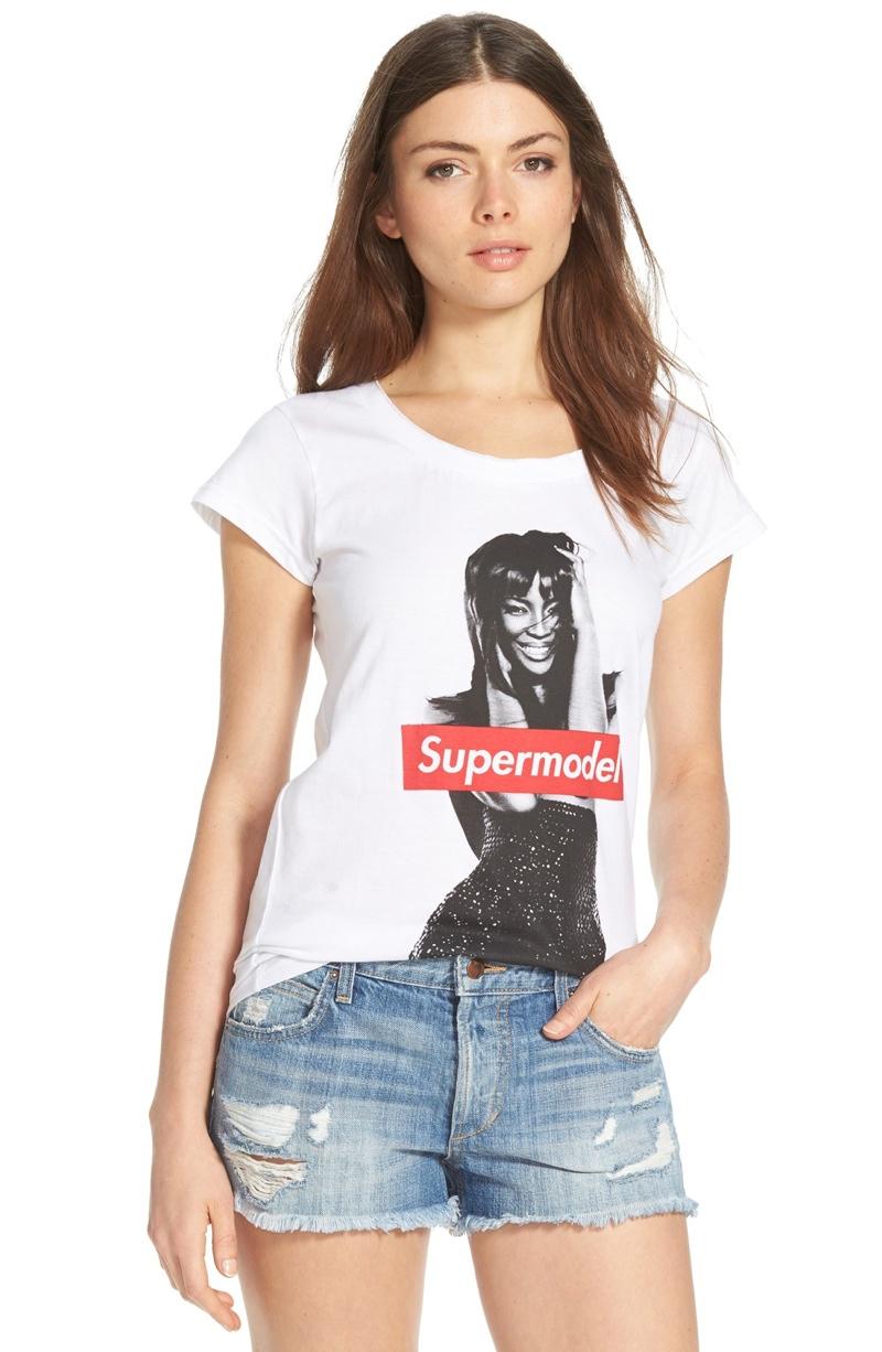Must-Have Tee: ELEVENPARIS 'Naomi' Supermodel Shirt