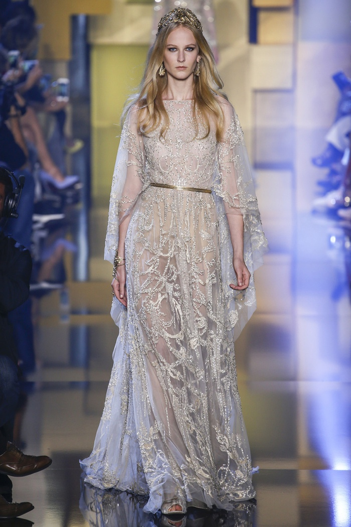 Elie Saab Fall 2015 Couture: Covered in Gold