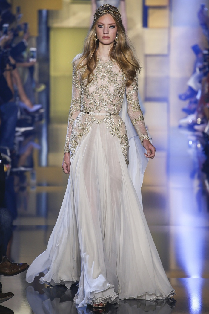 Elie saab fall 2015 haute couture for Couture a valenciennes
