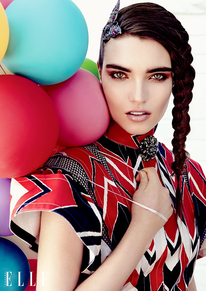 ELLE Canada Embraces Eccentric Style for its September Issue