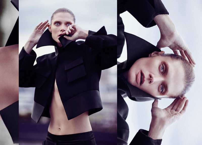 Malgosia Bela Brings Intensity to ELLERY's Pre-Fall 2015 Campaign