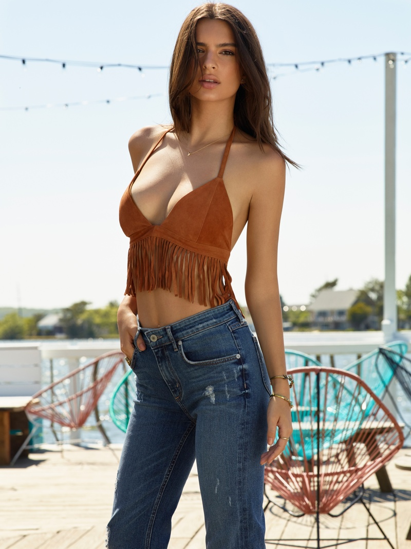 Emily Ratajkowski is a Summer Babe in REVOLVE's Latest Campaign
