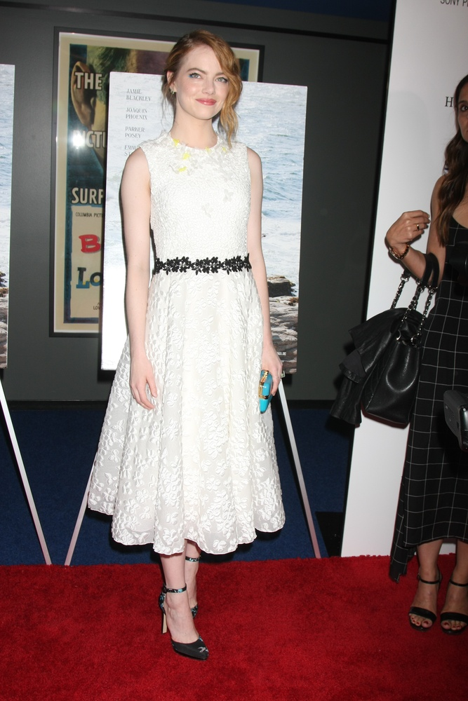 Emma Stone Wears the Perfect Summer Dress at 'Irrational Man' Los Angeles Premiere