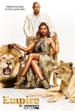 Taraji P. Henson is Dipped in Gold for 'Empire' Season 2 Poster