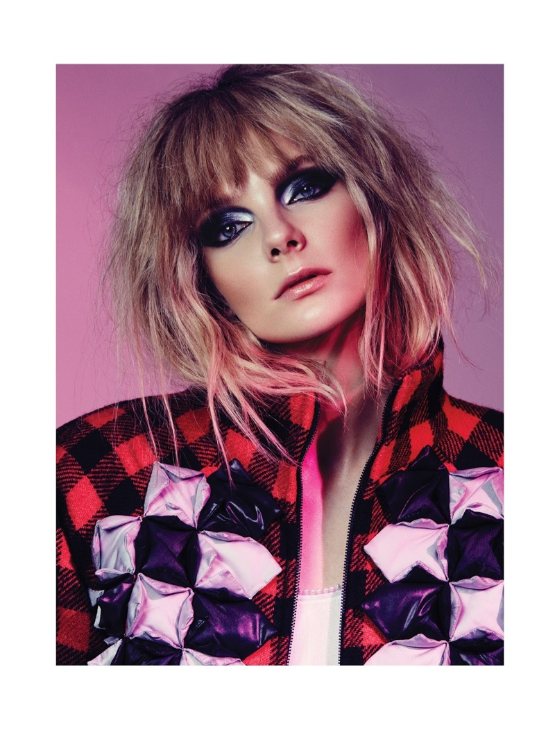 Eniko Mihalik Wears Fashion with Edge for Cover Story of MANIFESTO