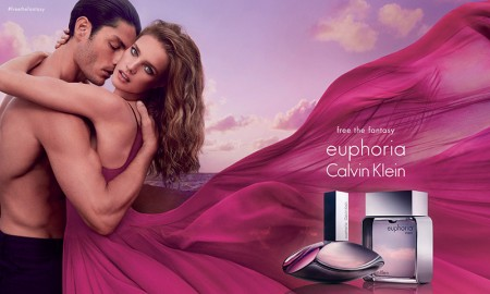 Natalia Vodianova for Calvin Klein euphora fragrance advertisement