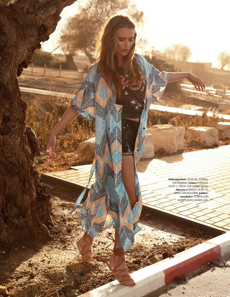 Yana Karpova Sports Festival Style for Asa Tallgard in Damernas Magazine