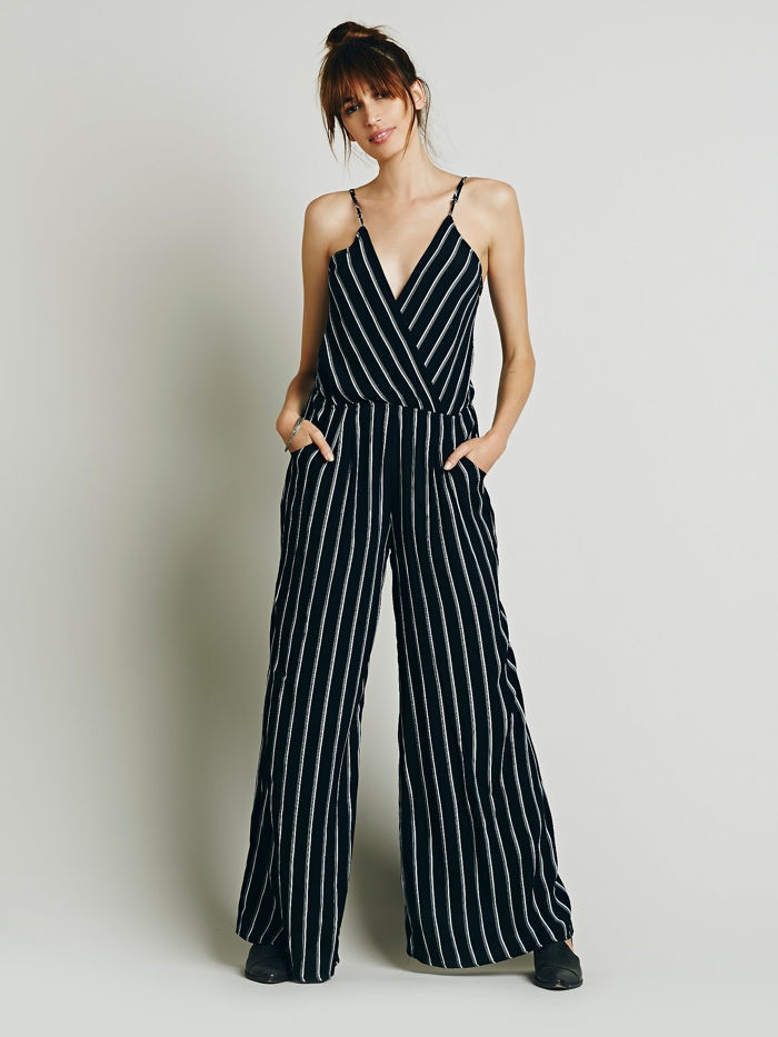 Flynn Skye 'Dressy in Pinstriped' Jumpsuit available for $202.00