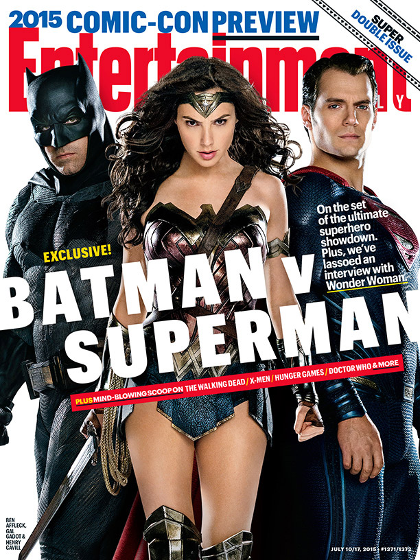 Gal Gadot Takes Center Stage for 'Batman v Superman' Entertainment Weekly Cover
