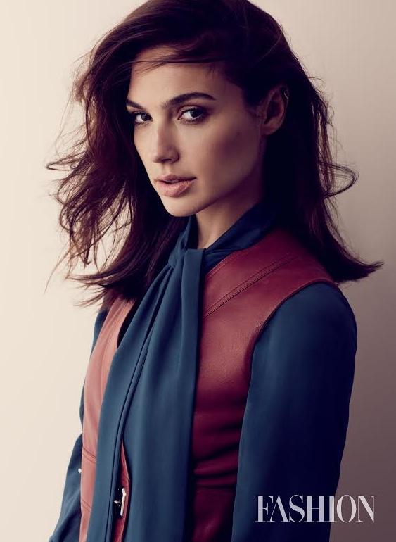 Gal Gadot Stars in FASHION Magazine, Talks Wonder Woman Role