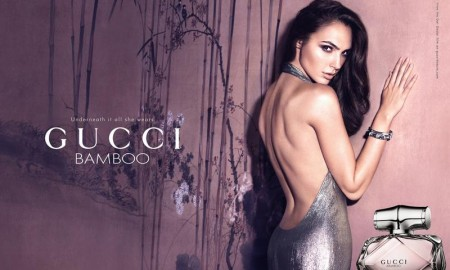 Gal Gadot for Gucci Bamboo Fragrance advertisement