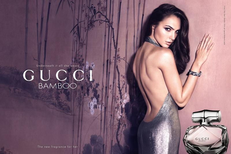 Gal Gadot Flaunts Her Back for Gucci 'Bamboo' Fragrance Ad