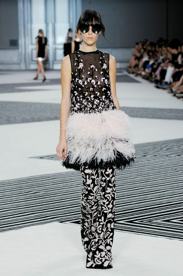 Giambattista Valli Fall 2015 Couture: In Full Bloom