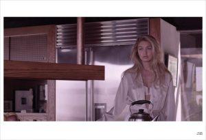 Gigi Hadid Makes One Glamorous Actress in V Editorial