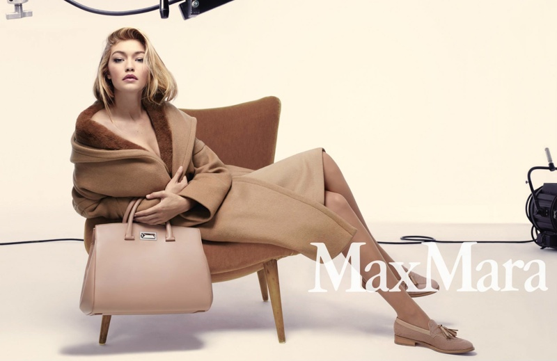Gigi Hadid stars in Max Mara's fall-winter 2015 campaign