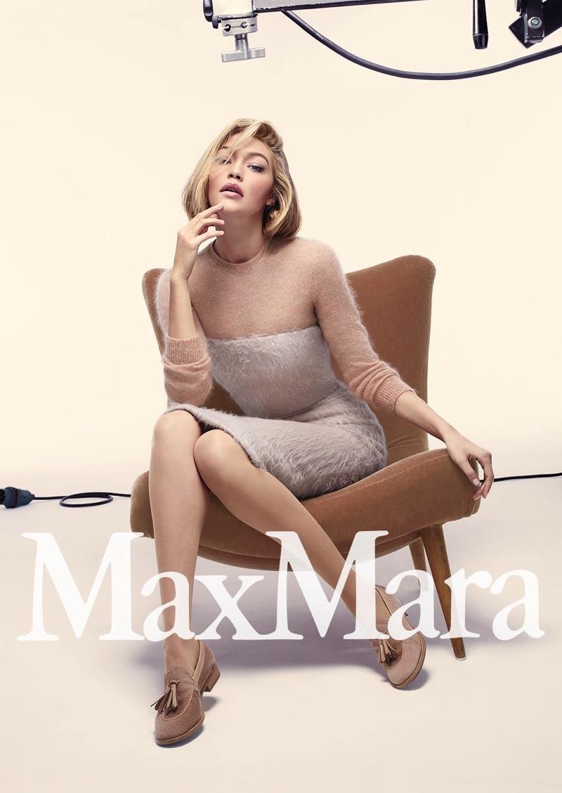 See More Photos from Max Mara's Fall 2015 Ads with Gigi Hadid