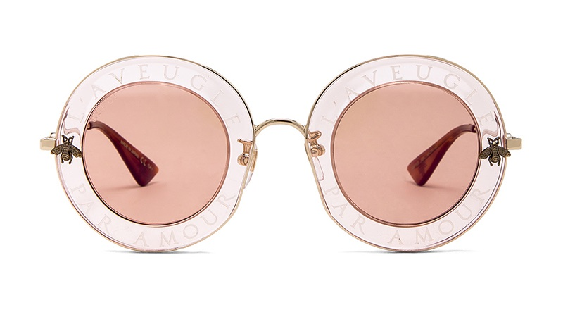 Gucci Round Metal Sunglasses $620