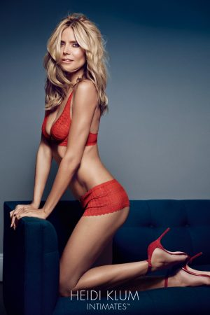 Heidi Klum Smolders for Latest Heidi Klum Intimates Photos