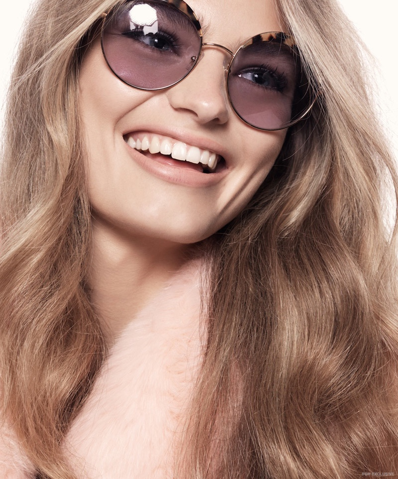 (On Anna) Wheels and Dollbaby Pink Marabou Coat, Miu Miu Sunglasses from Sunglass Hut