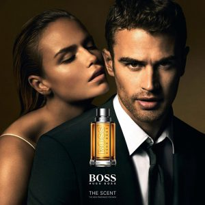 Natasha Poly Cozies Up to Theo James in Boss Fragrance Campaign