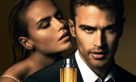 Natasha Poly and Theo James in Boss by Hugo Boss fragrance campaign