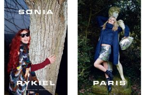 The Jagger Sisters Team Up for Sonia Rykiel's Fall Campaign
