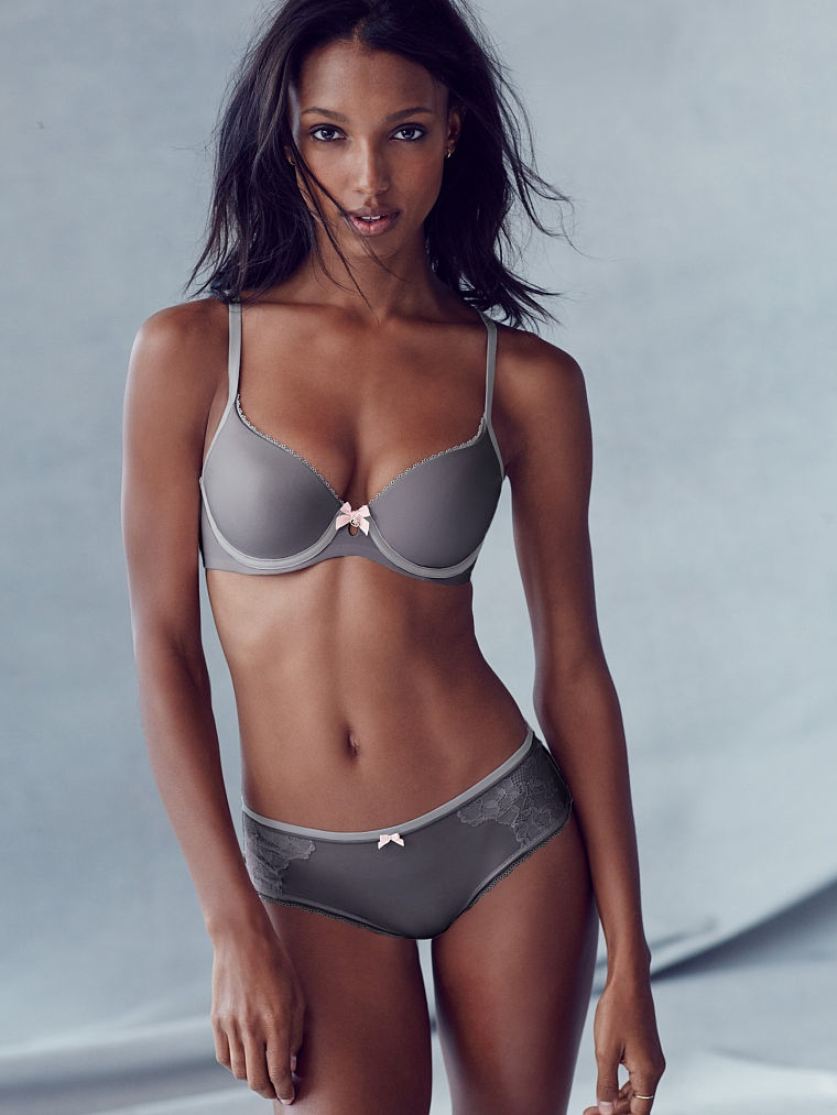 Jasmine Tookes Stuns in Victoria's Secret Photos