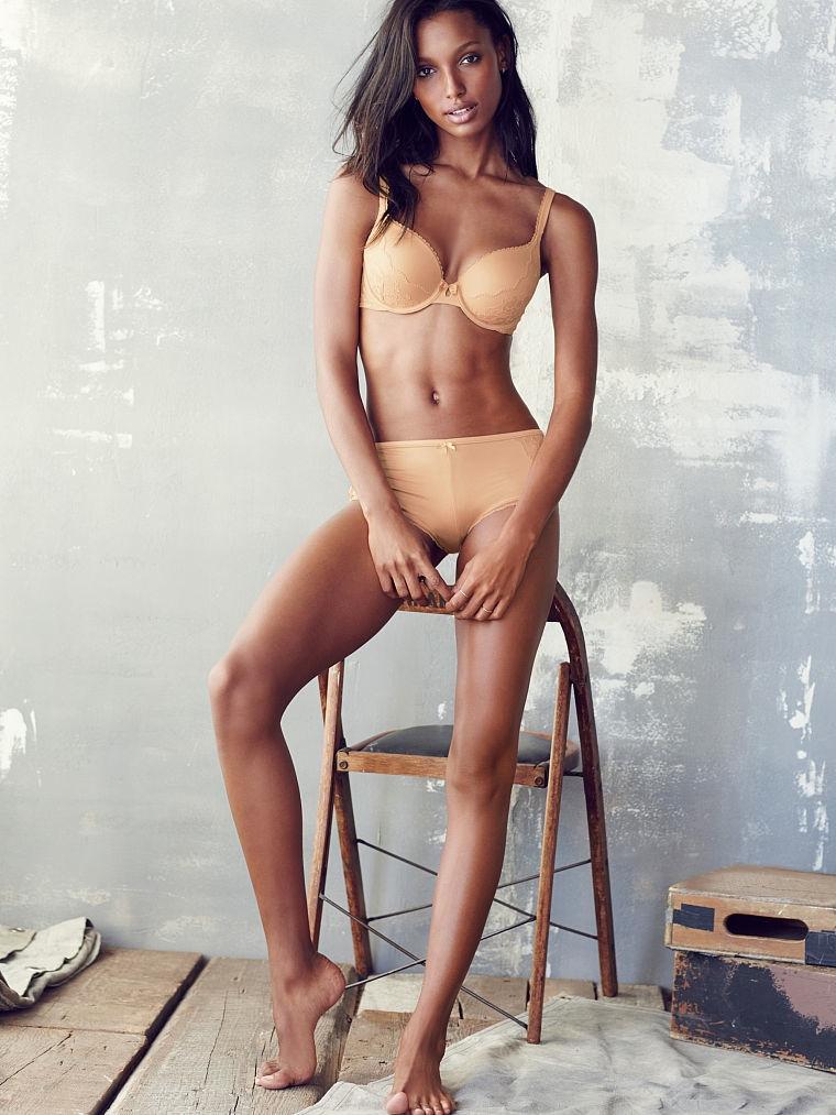 Jasmine Tookes Stuns in Victoria's Secret Underwear Photos