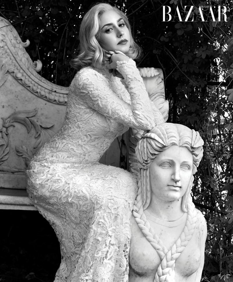 Grace Kelly's Granddaughter, Jazmin Grace Grimaldi, Poses for Harper's Bazaar