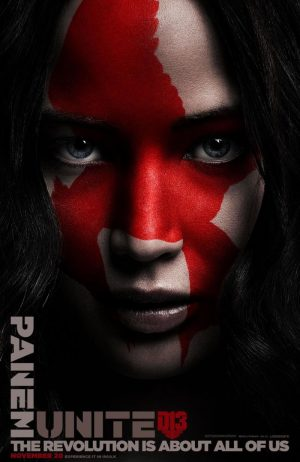'The Hunger Games' Stars Get Painted for 'Mockingjay Part 2' Posters