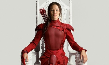 Jennifer Lawrence as Katniss Everdeen for The Hunger Games: Mockingjay - Part 2