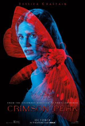 Jessica Chastain, Mia Wasikowska Get Supernatural on 'Crimson Peak' Posters