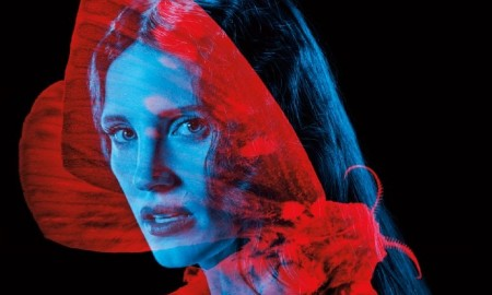 Jessica Chastain on Crimson Peak poster