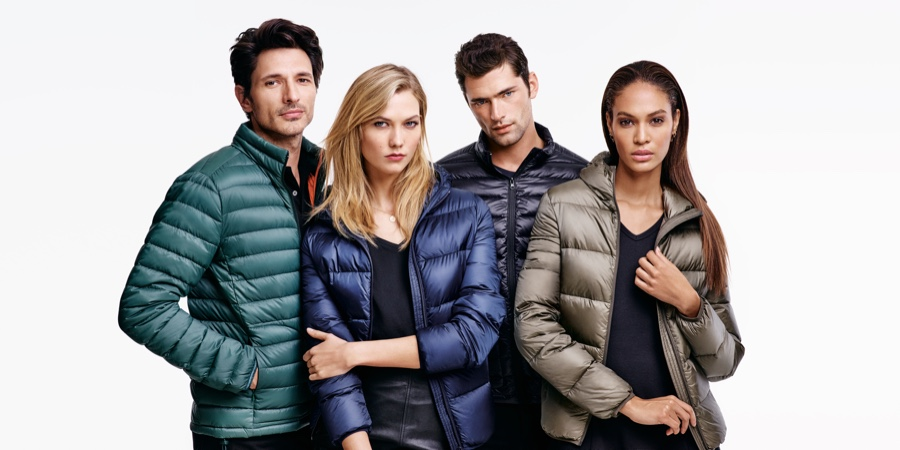 Karlie Kloss & Joan Smalls Are Casual Chic in Joe Fresh Fall '15 Ads