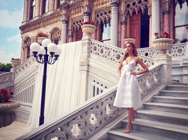 Josephine Skriver Travels to Istanbul for Kookai's Spring 2016 Campaign