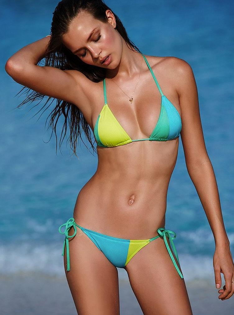 Beach bikini swim