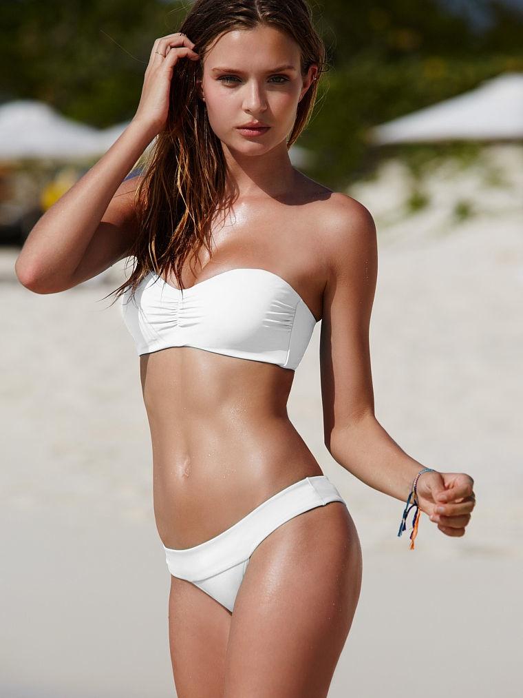 Josephine Skriver Flaunts Her Beach Body in Victoria's Secret Photos