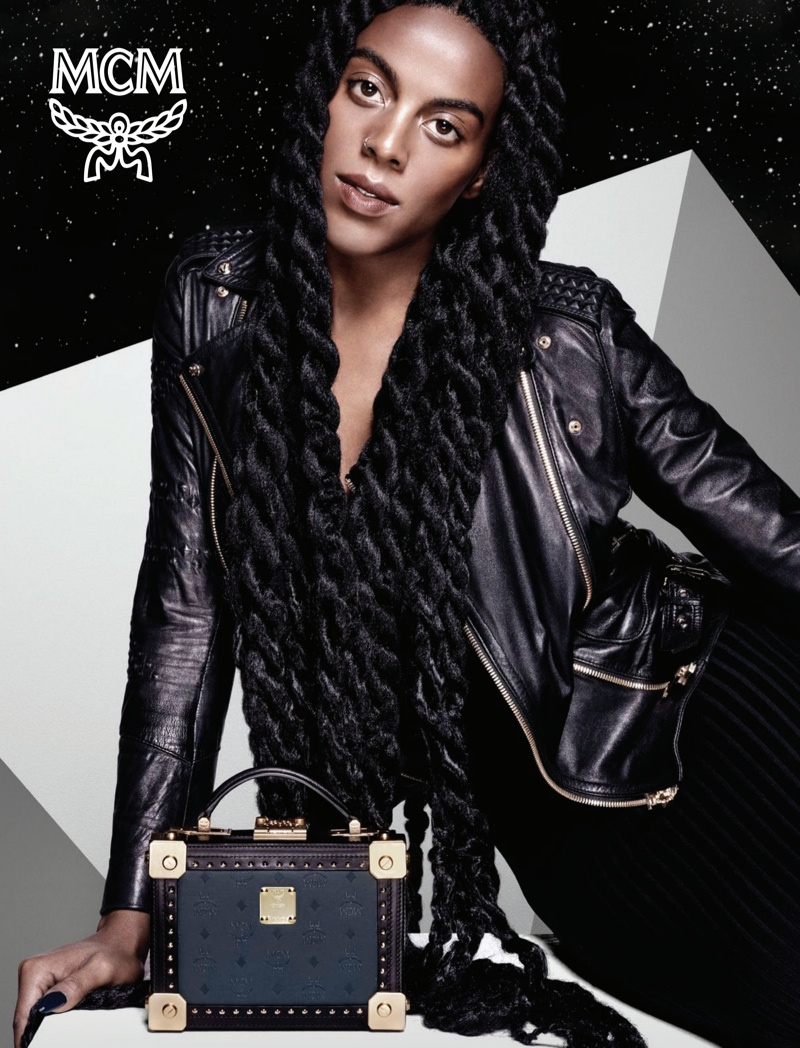 Juliana Huxtable for MCM Fall-Winter 2015 Campaign