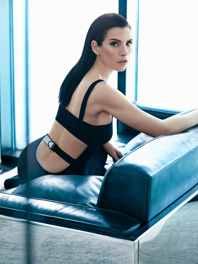 Juliana Margulies Wears Sleek Style for The Edit by Hunter & Gatti