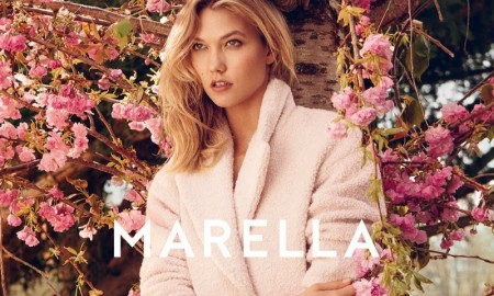 Karlie Kloss stars in Marella's fall-winter 2015 campaign