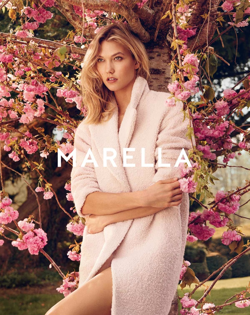 Karlie Kloss stars in Marella's fall-winter 2015 campaign