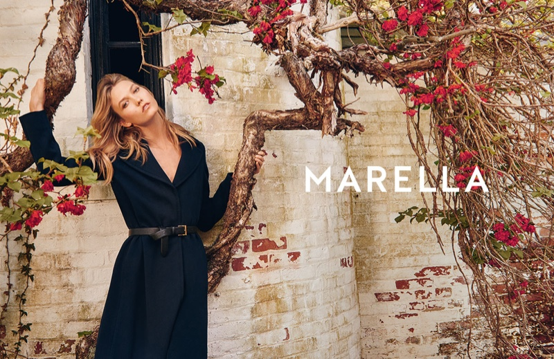 Karlie Kloss is a Natural Beauty in Marella's Fall 2015 Campaign