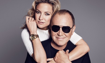 Kate Hudson and Michael Kors for Watch Hunger Stop Campaign
