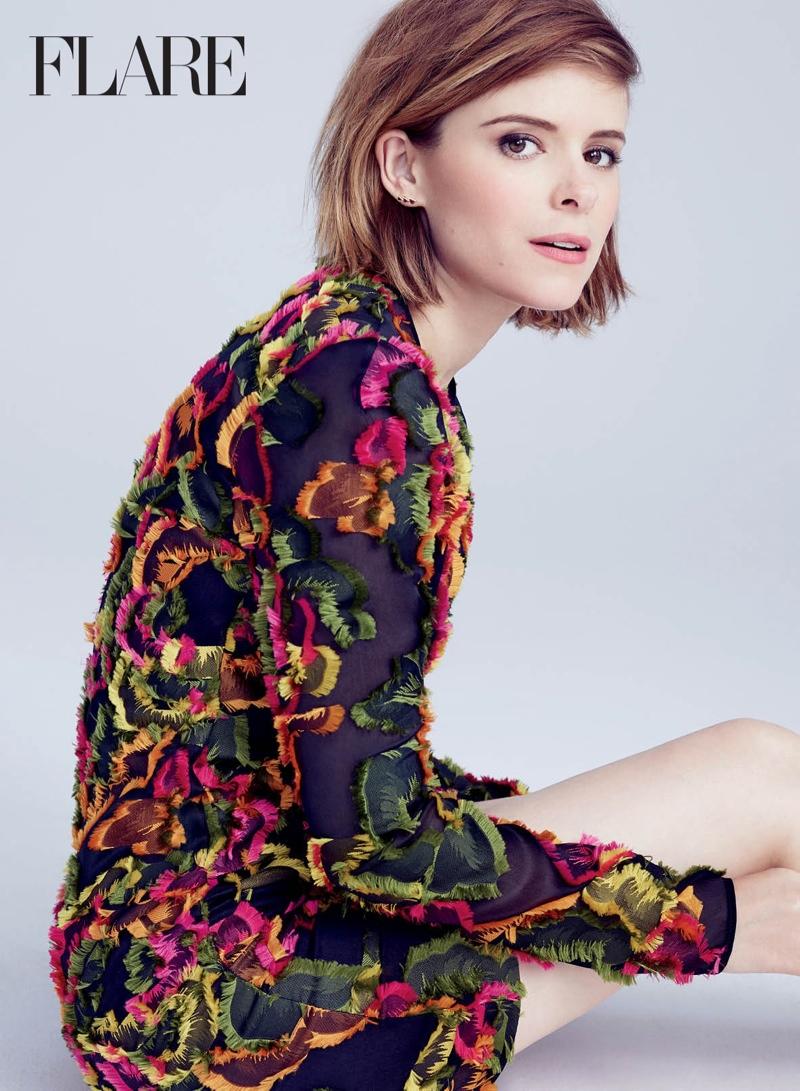 Kate Mara Stars in Flare Magazine, Talk 'Fantastic Four' Role