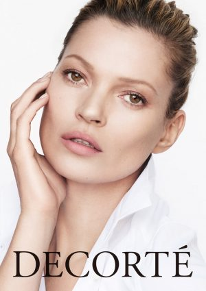 Kate Moss is the New Face of DECORTÉ