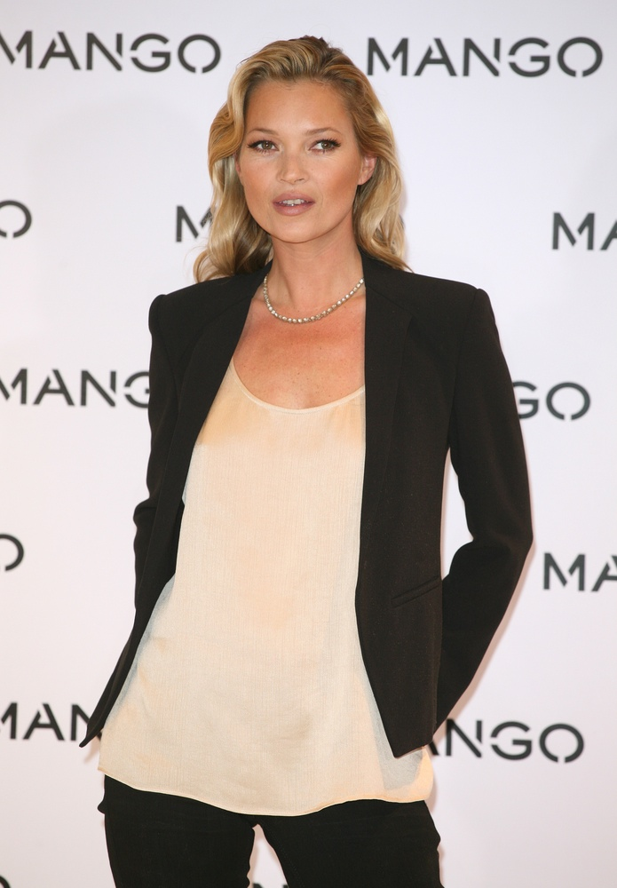 Kate Moss. Photo: Featureflash / Shutterstock.com