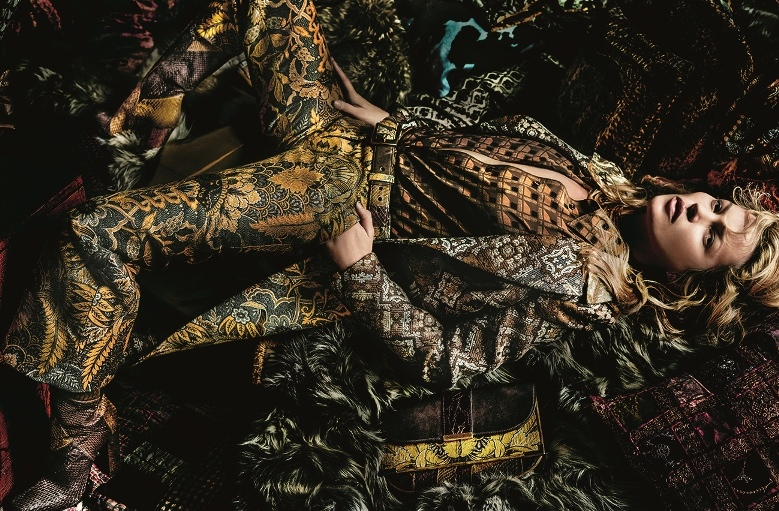 Kate Moss Goes Bohemian for Etro's Fall 2015 Campaign